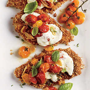 Chicken Parmesan with Oven-Roasted Tomato SauceRecipe