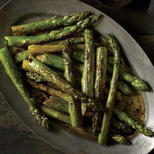 Roasted Asparagus with Balsamic Browned ButterRecipe