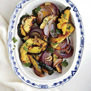 Roasted Red Onions and Delicata Squash Recipe