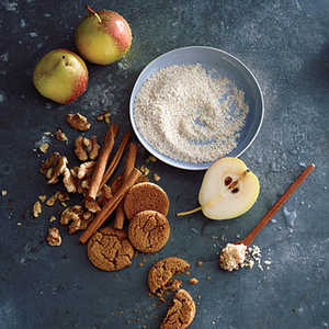 Creamy Wheat with Pear and GingerRecipe