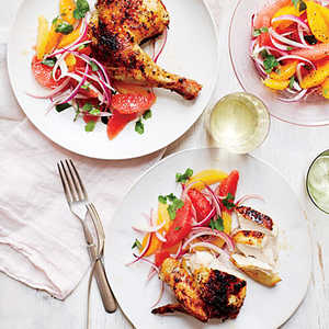 Four Citrus-Herb ChickenRecipe