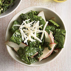 Kale Salad with Apple and CheddarRecipe