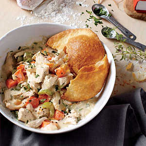 Crisp-Crust Chicken Potpie Recipe