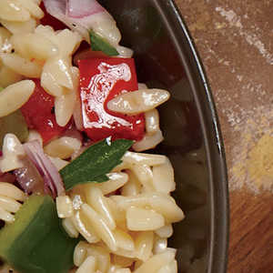 Greek Orzo SaladRecipe