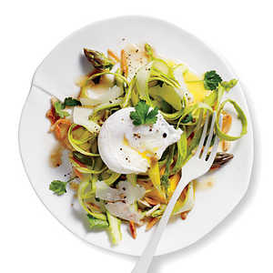 Shaved Asparagus Salad with Manchego and AlmondsRecipe