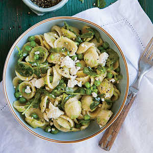 Orecchiette with Cress and Spring Pea Sauce Recipe