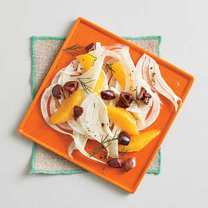 Shaved Fennel with Orange and Olives Recipe