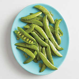 Steamed Snap Peas with Wasabi Butter Recipe