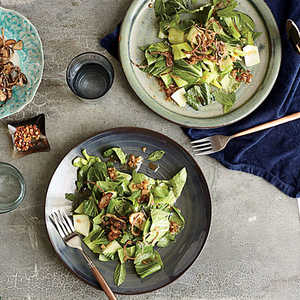 Bok Choy Salad with Fried Shallots Recipe