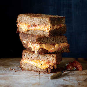 Grilled Cheese with Roasted Tomato SpreadRecipe