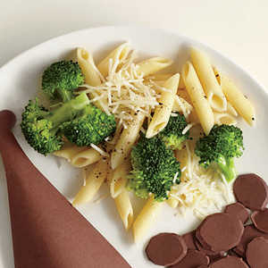 Broccoli and Penne with AsiagoRecipe