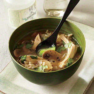 Chicken and Rice Soup with Lemon and GingerRecipe