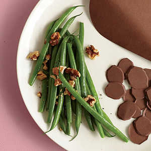 Green Beans with WalnutsRecipe
