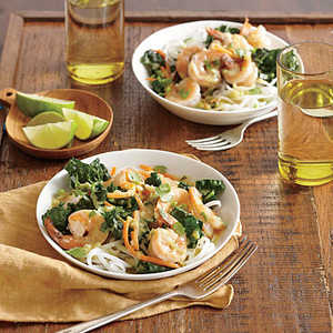 Thai Green Curry with Shrimp and KaleRecipe