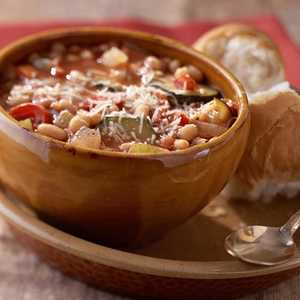 Show-Me-State Vegetable-Bean SoupRecipe