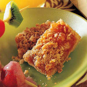 Heavenly Apricot Cobbler BarsRecipe