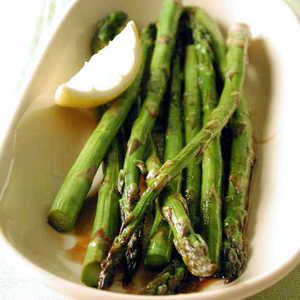 Apricot-Glazed Roasted AsparagusRecipe