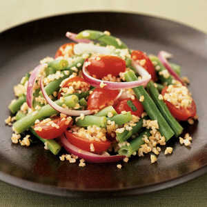 Walnut-Green Bean SaladRecipe