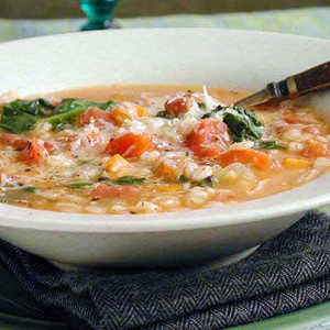 Hearty Bean and Barley SoupRecipe