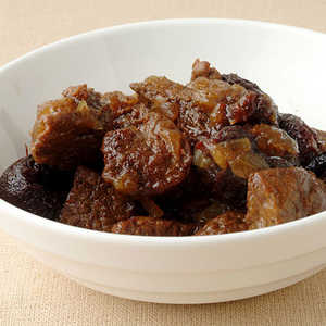 Beef Tagine with Dried Plums and Toasted AlmondsRecipe