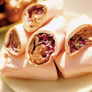 Roast Beef and Blue Cheese Wraps Recipe