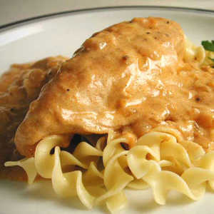 Chicken PaprikasRecipe
