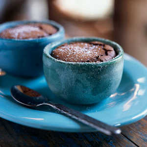 Mexican Chocolate SoufflésRecipe