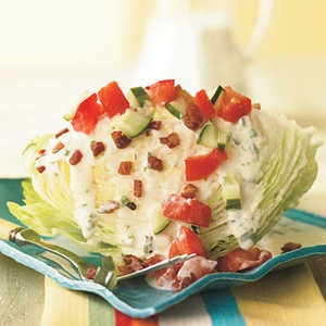 Iceberg Wedge with PancettaRecipe