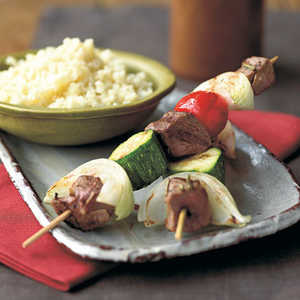 Yogurt-Marinated Lamb KebabsRecipe