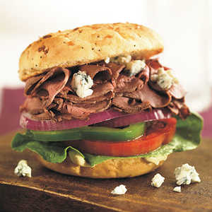 Roast Beef-and-Blue Cheese Sandwich Recipe