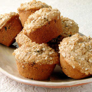 Oat-Topped Fig MuffinsRecipe