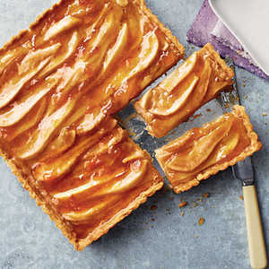 Pear and Apricot Tart