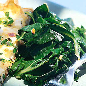 Greens with Garlic and Lemon Recipe