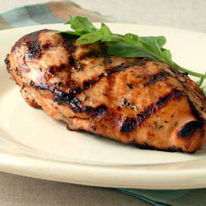 Lager and Lemon-Grilled ChickenRecipe