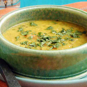 Lentil Dal with Garlic-and-Cumin-Infused OilRecipe