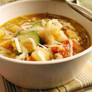 Minestrone Soup with SoybeansRecipe