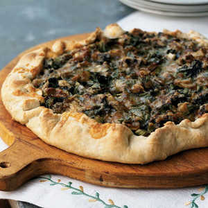 Spring Onion and Morel GaletteRecipe