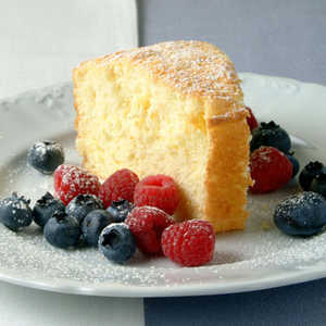 Orange Cake with Fresh BerriesRecipe