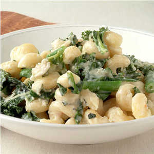 Pasta with Beans and Greens Recipe