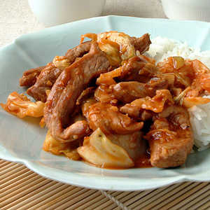 Hot and Sour Pork with CabbageRecipe