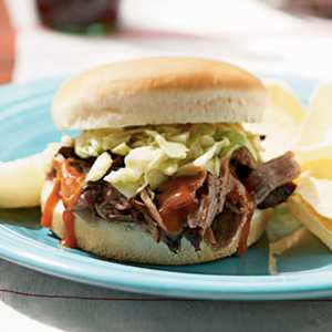 Memphis Pork and Coleslaw SandwichRecipe