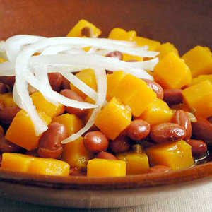 Frijoles Colorados (Red Beans with Squash) Recipe