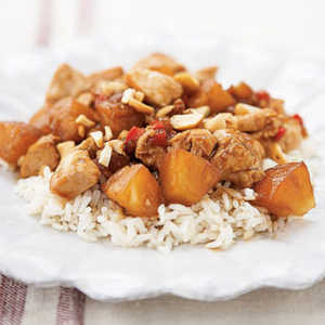 <p>Sweet and Sour Chicken</p>
