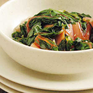 Swiss Chard with Garlic and OreganoRecipe