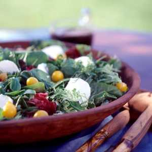 Greens with Maple-Balsamic DressingRecipe