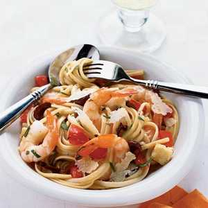 Shrimp and Brie LinguineRecipe