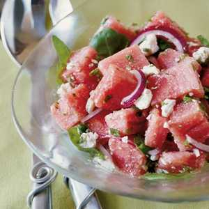Big Top Watermelon SaladRecipe