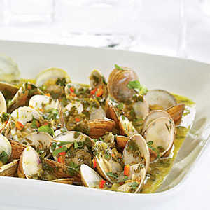 Local Clams with Herb ButterRecipe