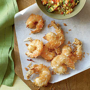 Coconut Shrimp with Pineapple Salsa Recipe