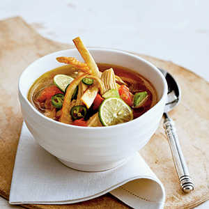 Yucatecan Chicken-and-Lime Soup Recipe